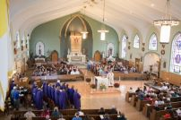 Massmob XIII 2015-10-04 Parish of St. Katharine Drexel at Saint Francis of Assisi Church - Buffalo,NY ©2015 Arthur Kogutowski