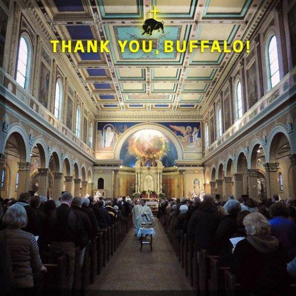thank you  buffalo  mass mob xiv at st  luke u2019s mission of